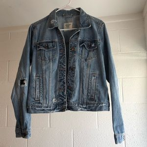 Abercrombie and Fitch Denim Jacket
